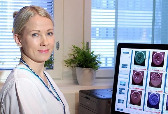 Embryoskooppi biologi Niina Viitanen Ovumia Fertinova